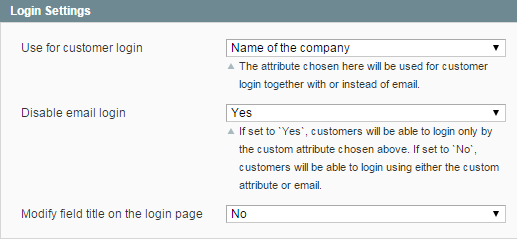 Use customer attributes